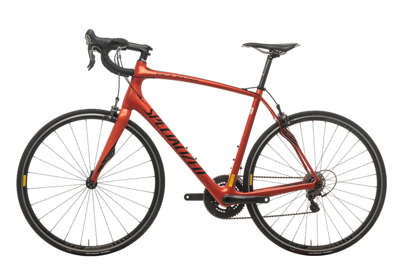 Specialized Roubaix Expert SL4 Road Bike - 2013, 58cm non-drive side