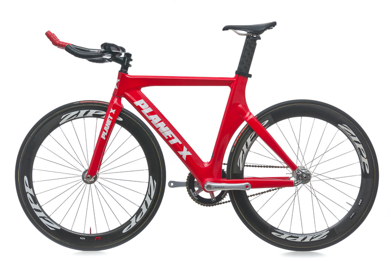 Planet X Pro Carbon 52cm Bike - 2012 non-drive side