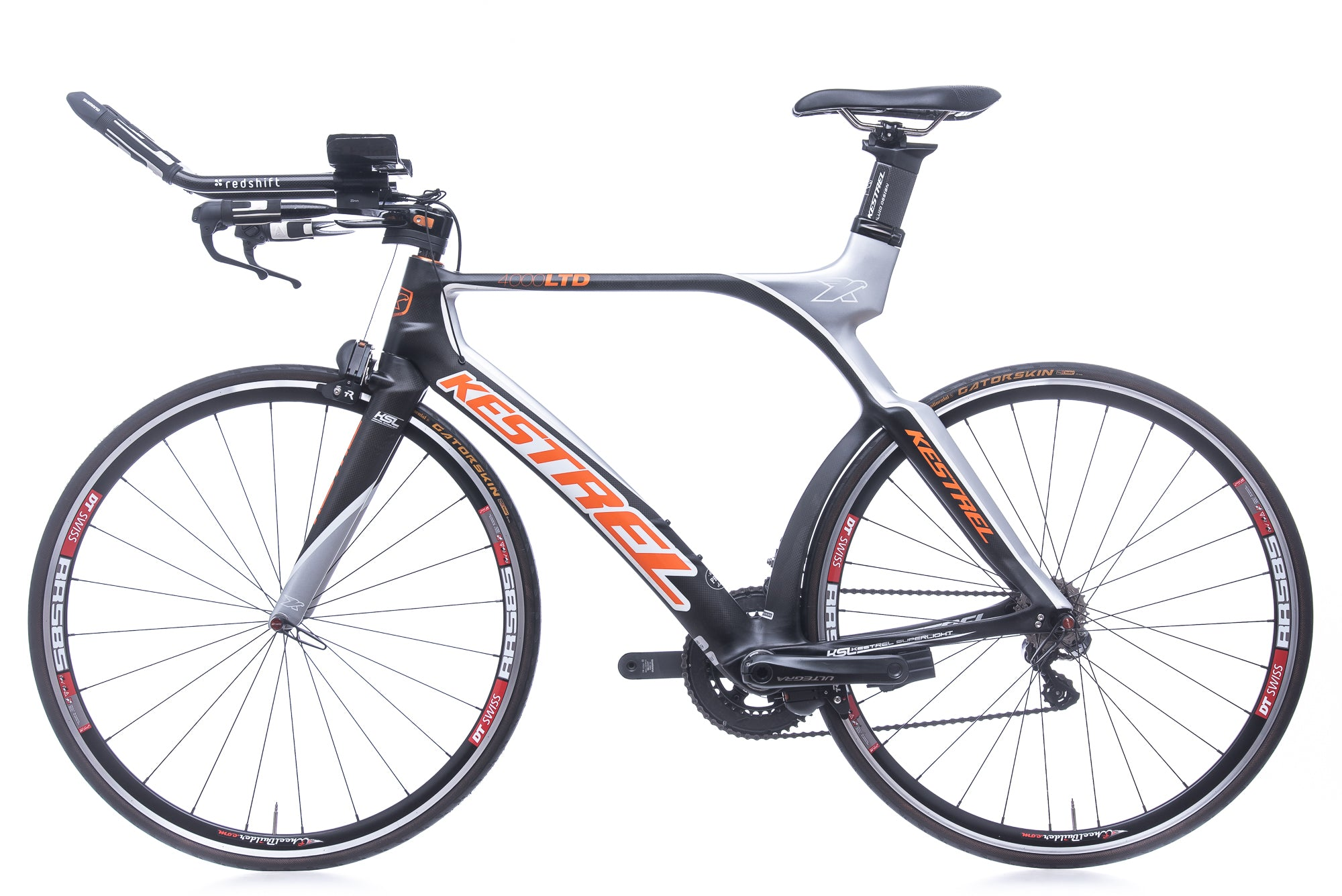 Kestrel 4000 LTD 57.5cm Bike - 2012 non-drive side