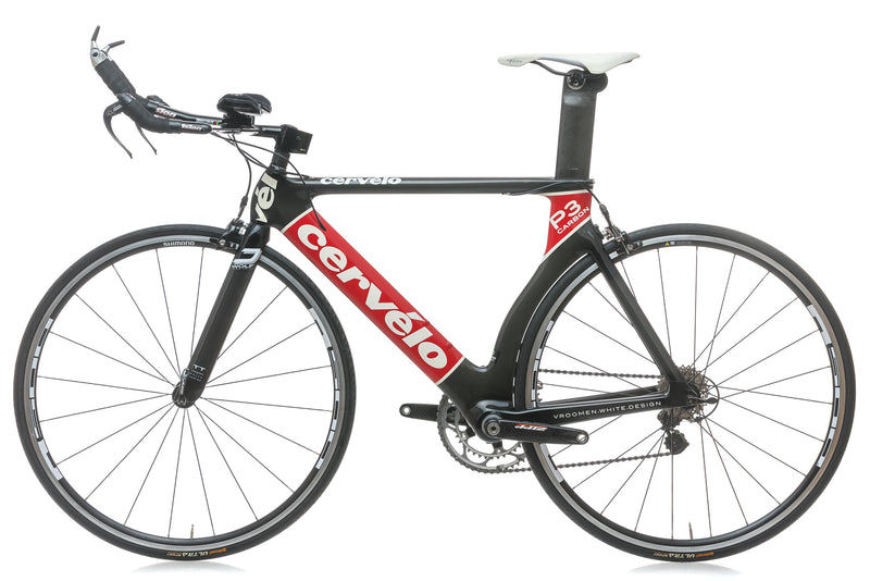 Cervelo P3 Carbon 55cm Bike - 2005 non-drive side
