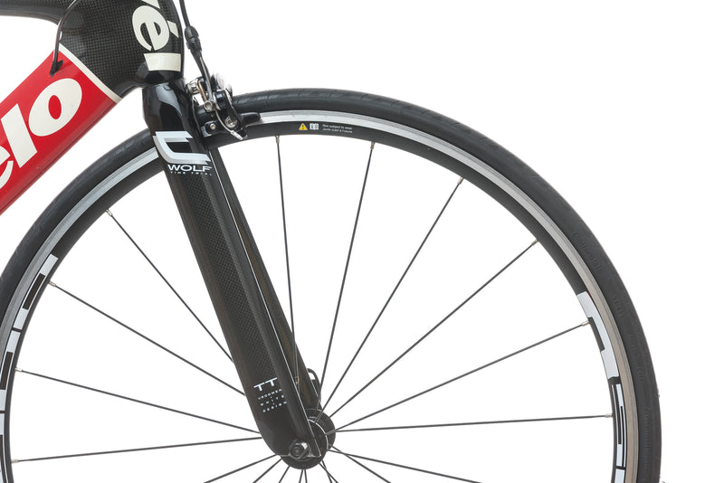 Cervelo P3 Carbon 55cm Bike - 2005 front wheel