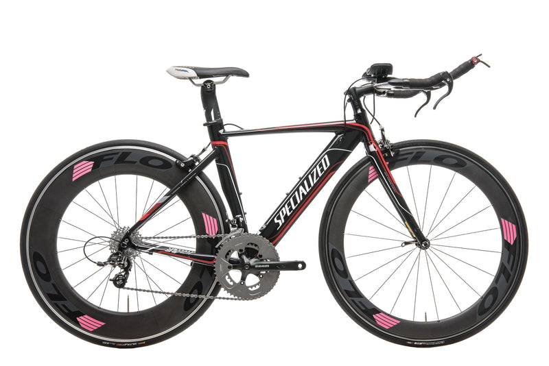 2013 Specialized Shiv Elite Apex Triathlon Bike - 2013, X-Small drive side