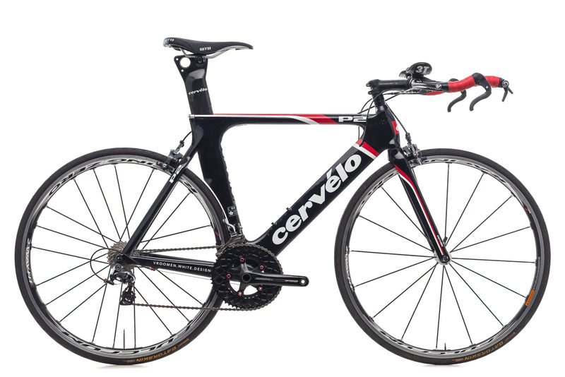 Cervelo P2 54cm Bike - 2011 drive side