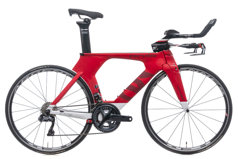 Cervelo P5 Six 45cm Bike - 2017 drive side