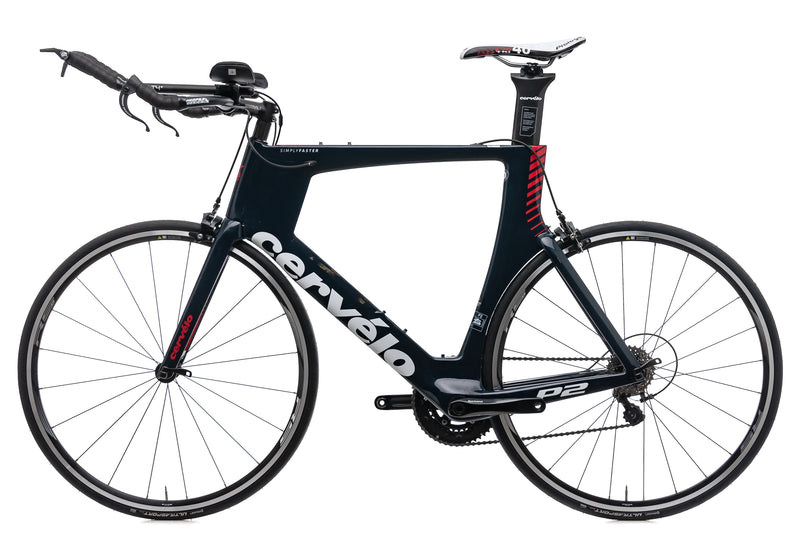 Cervelo P2 61cm Bike - 2017 non-drive side
