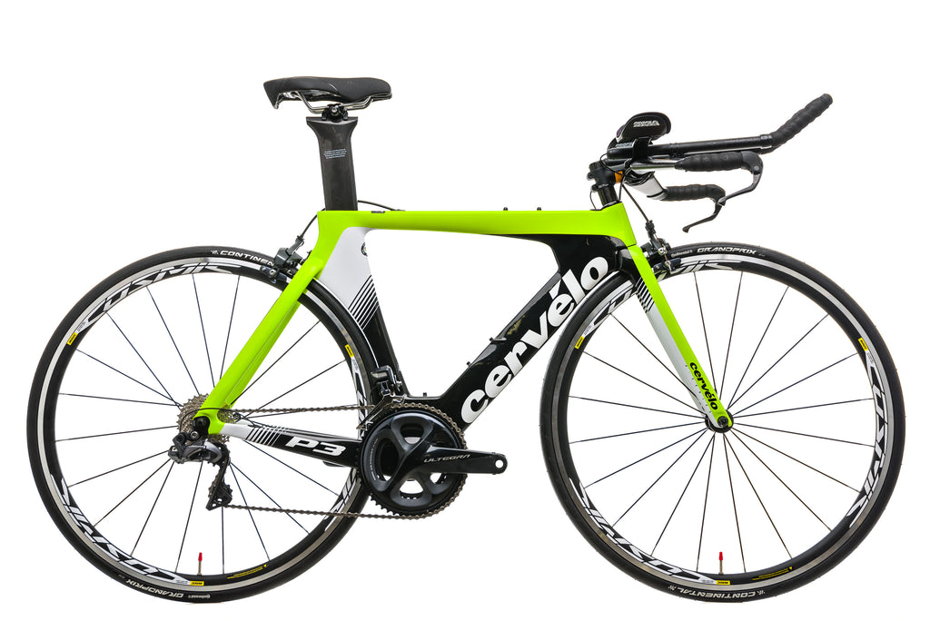 Cervelo P3 Ultegra Di2 Time Trial Bike - 2019, 48cm drive side