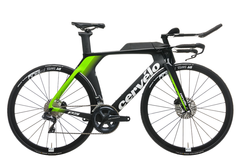 Cervelo P5 Disc Time Trial Bike - 2019, 54cm drive side