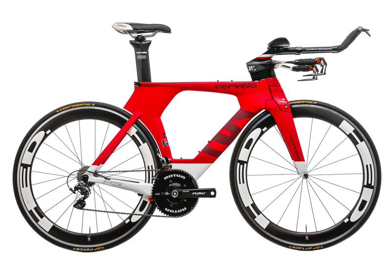 Cervelo P5 Time Trial Bike - 2015, 51cm drive side