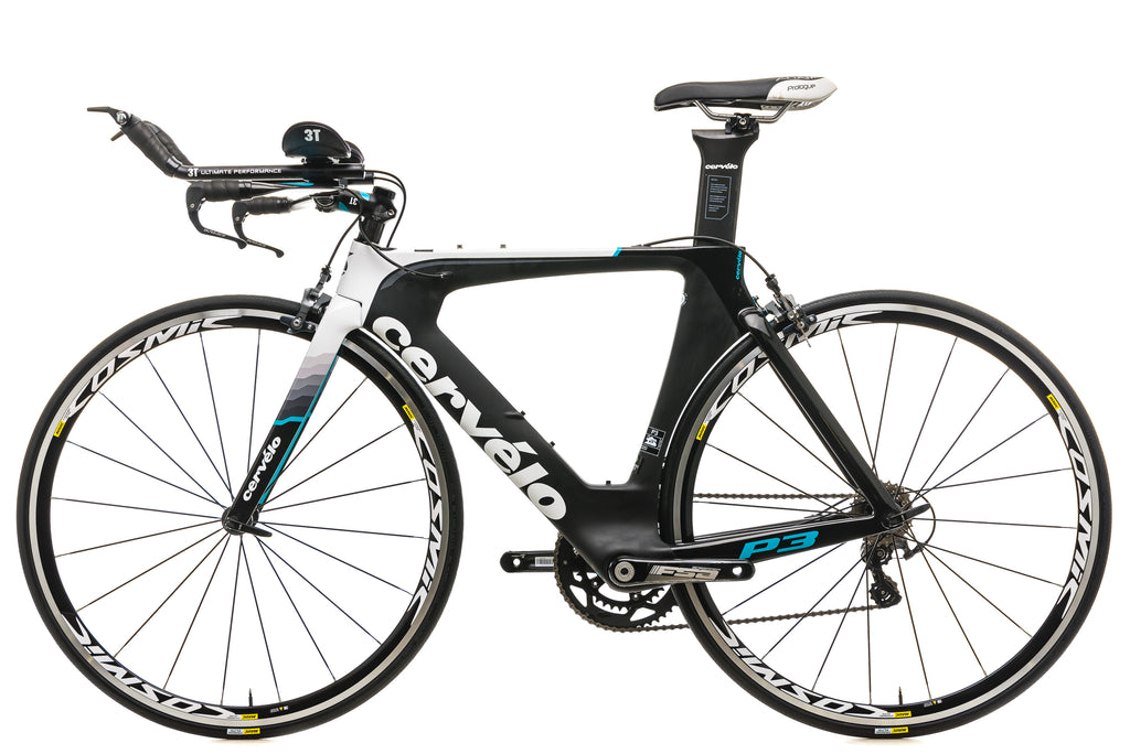 Cervelo P3 Ultegra Time Trial Bike - 2016, 48cm non-drive side