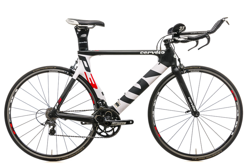 Cervelo P3 Time Trial Bike - 2013, 56cm drive side