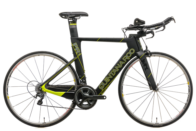 Quintana Roo PRsix Triathlon Bike - 2017, 54cm drive side