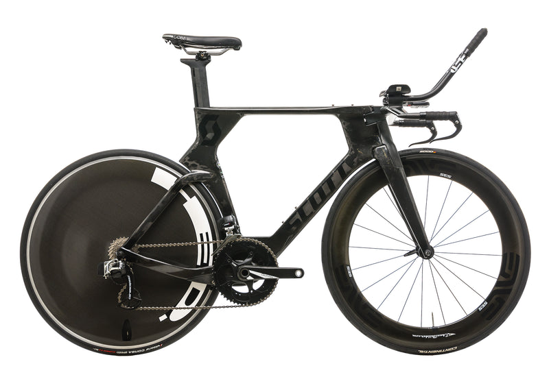 Scott Plasma Premium Time Trial Bike - 2015, Medium drive side