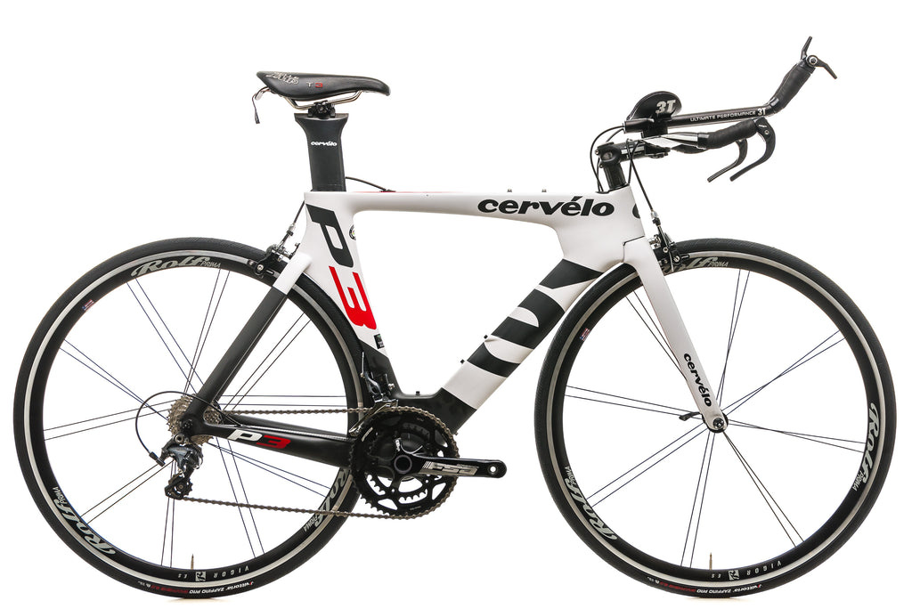 Cervelo P3 Time Trial Bike - 2014, 51cm drive side