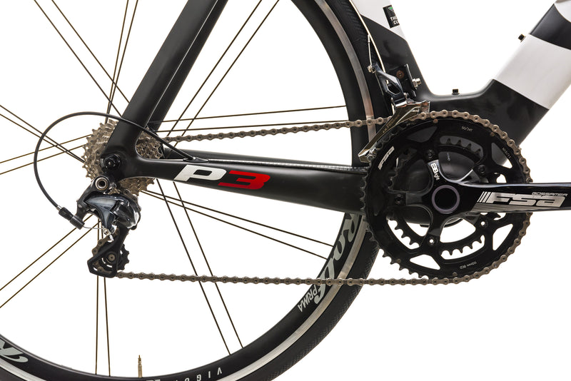 Cervelo P3 Time Trial Bike - 2014, 51cm drivetrain