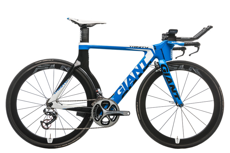 Giant Trinity Advanced SL 0 Triathlon Bike - 2013, Small drive side