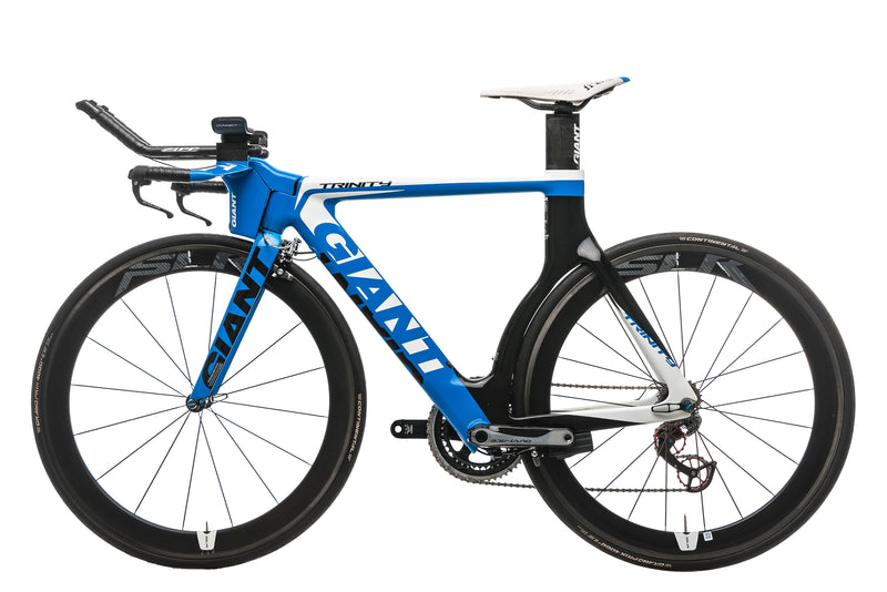 Giant Trinity Advanced SL 0 Triathlon Bike - 2013, Small non-drive side