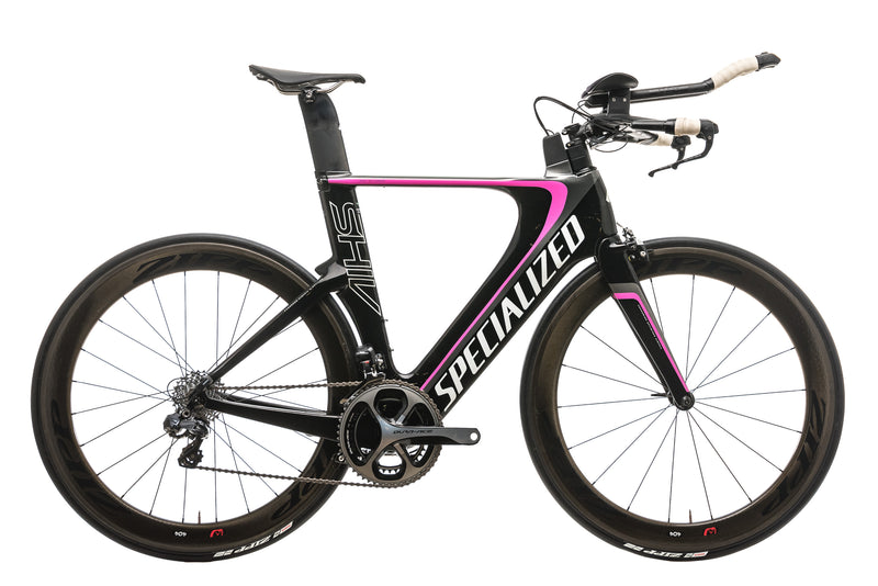 Specialized Shiv Expert Triathlon Bike - 2015, Medium drive side