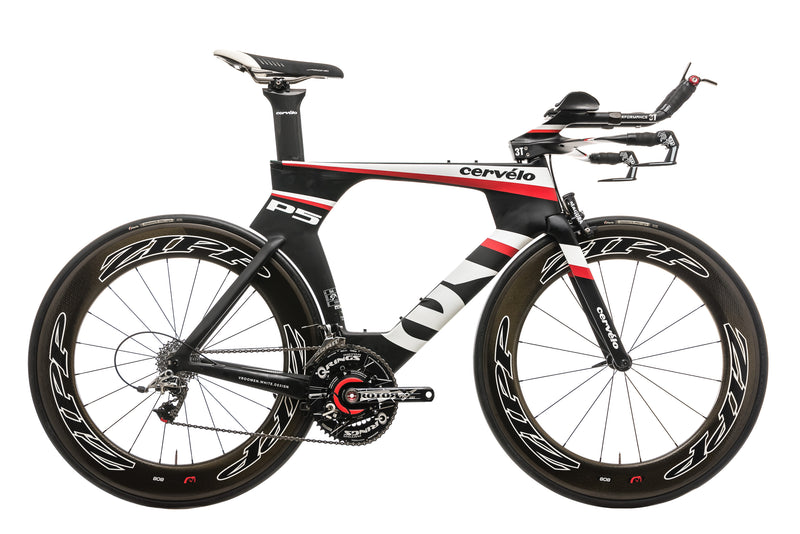 Cervelo P5 Time Trial Bike - 2013, 56cm drive side