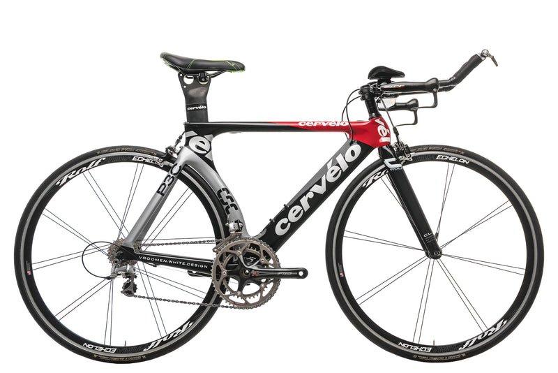 Cervelo P3C Triathlon Bike - 2008, 51cm drive side