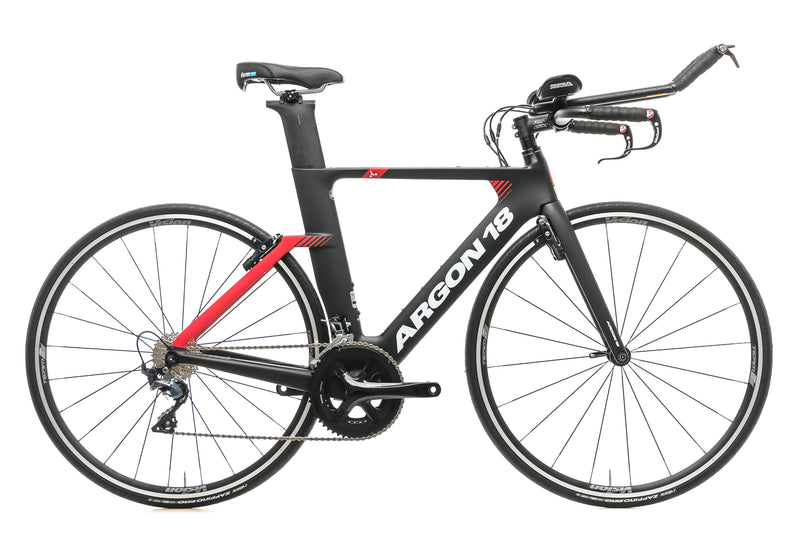 Argon 18 E-117 Triathlon Bike - 2019, Small drive side