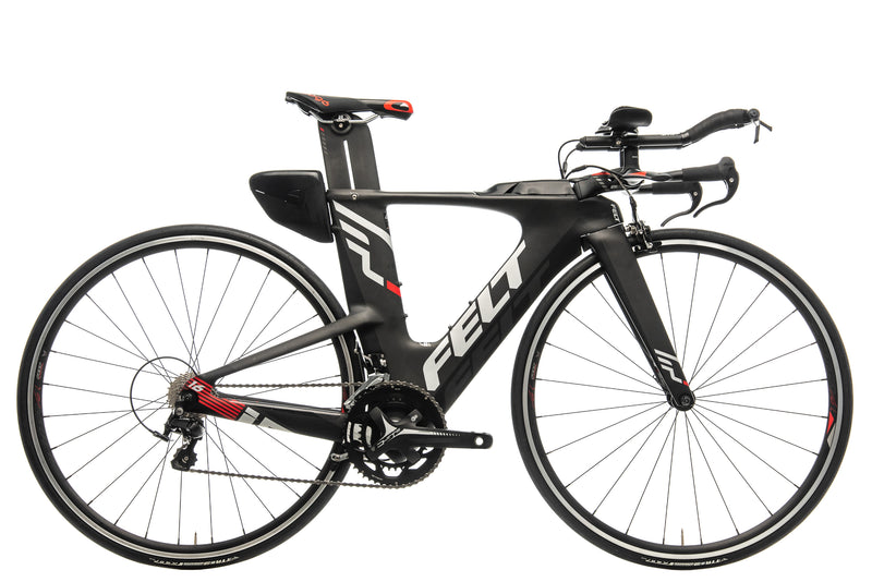 Felt IA16 Triathlon Bike - 2017, 48cm drive side