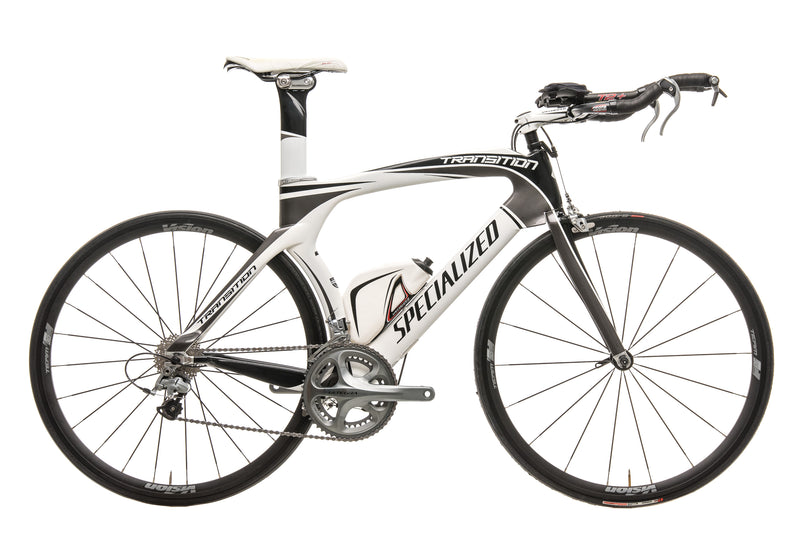 Specialized Transition Expert Triathlon Bike - 2010, X-Large drive side