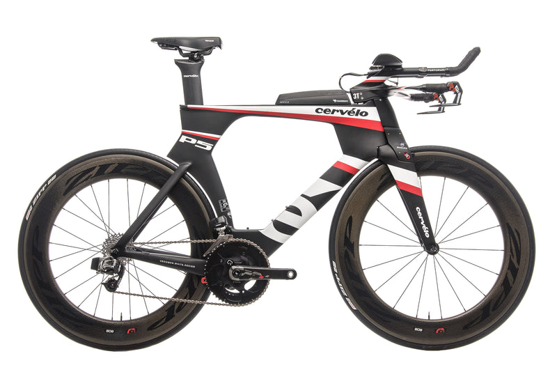 Cervelo P5 Six Triathlon Bike - 2013, 58cm drive side