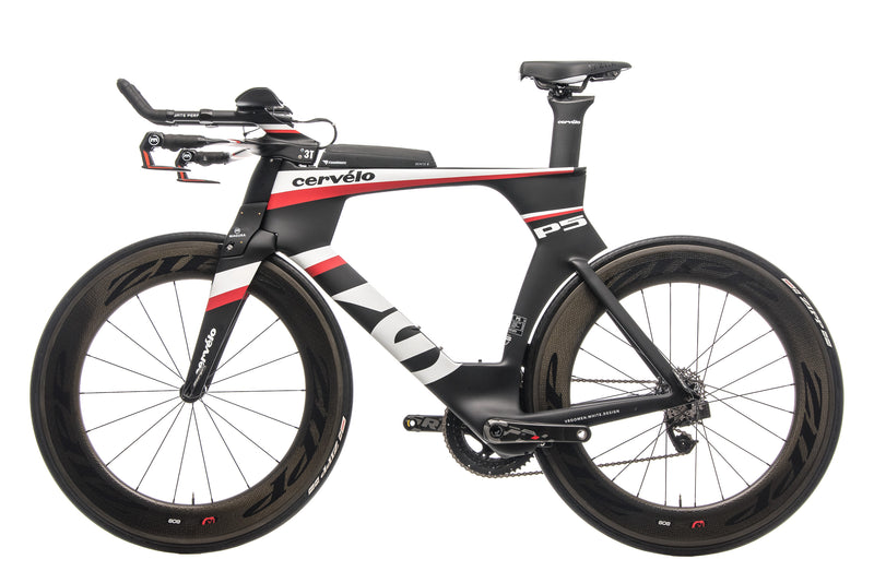Cervelo P5 Six Triathlon Bike - 2013, 58cm non-drive side