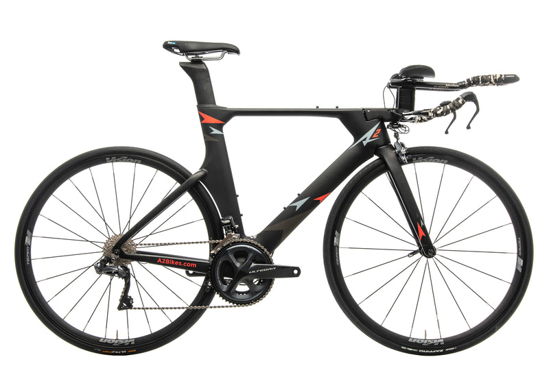 A2 Bikes The Speed Phreak Triathlon Bike - 2019, Medium drive side