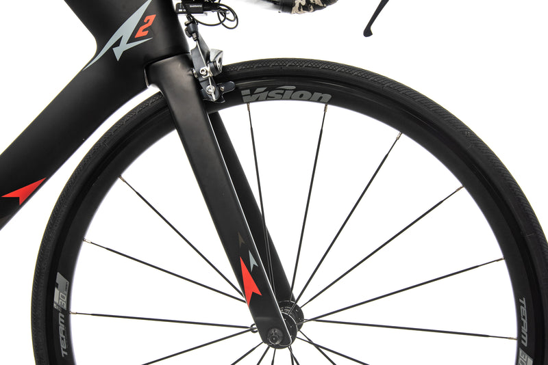 A2 Bikes The Speed Phreak Triathlon Bike - 2019, Medium front wheel