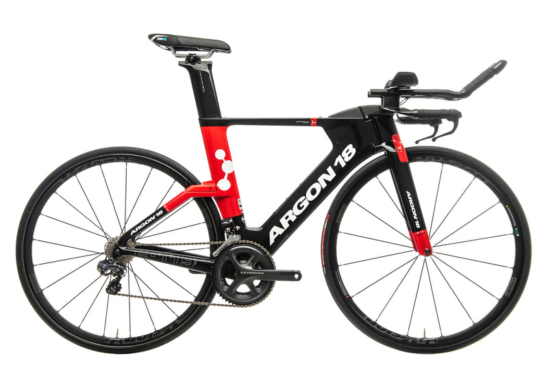 Argon 18 E-119 Tri Triathlon Bike - 2018, Medium drive side