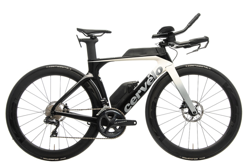 Cervelo P-Series Ultegra Di2 Disc Time Trial Bike - 2019, 48cm drive side