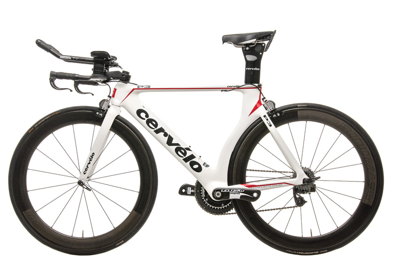 Cervelo P3 Triathlon Bike - 2010, 54cm non-drive side