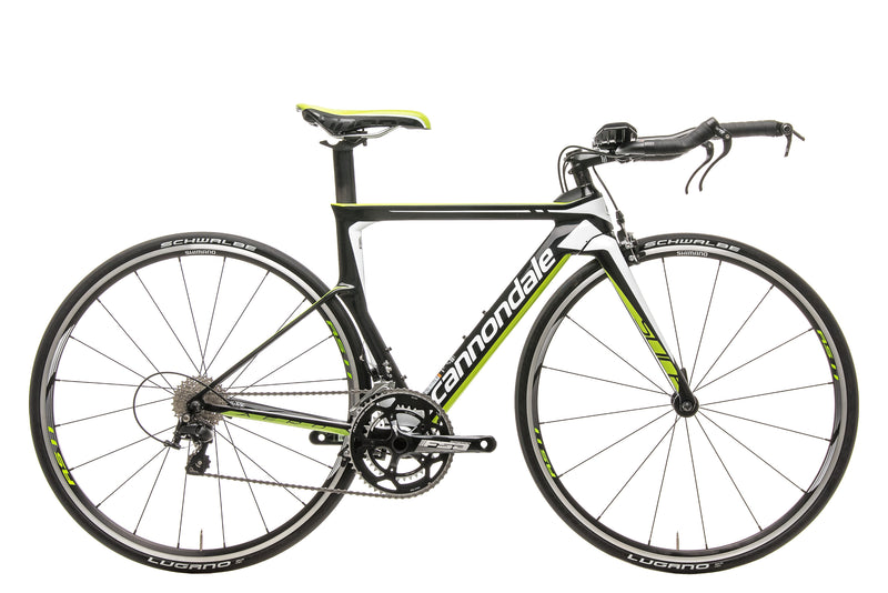 Cannondale Slice 105 Triathlon Bike - 2016, 48cm drive side