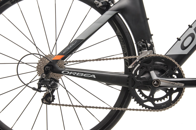 Orbea Ordu M30 Time Trial Bike - 2018, Small drivetrain