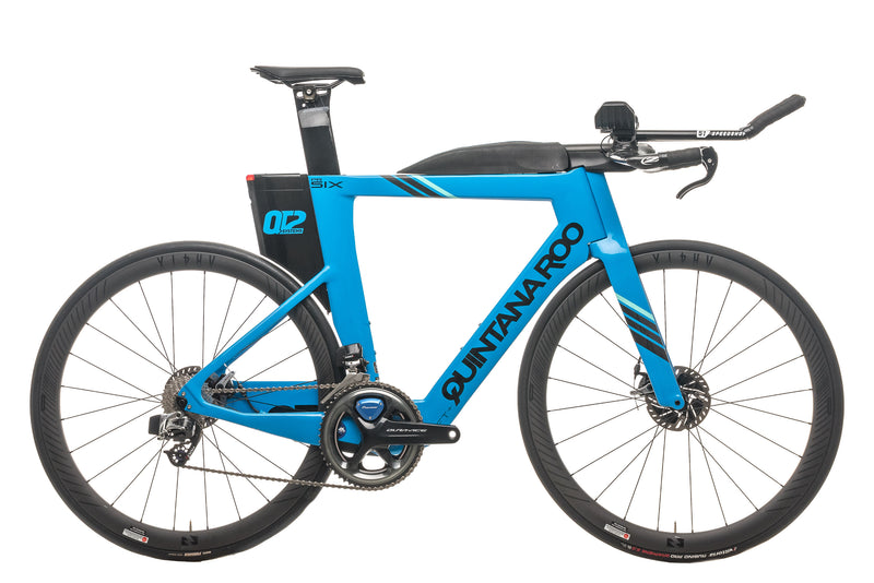 Quintana Roo PRsix Disc Triathlon Bike - 2020, 56cm drive side