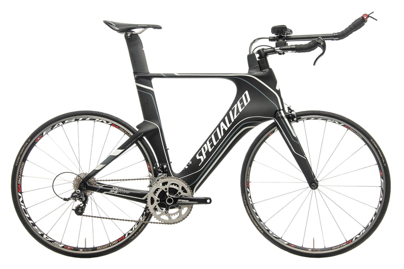 Specialized Shiv Comp Rival Mid-Compact Triathlon Bike - 2013, X-Large drive side