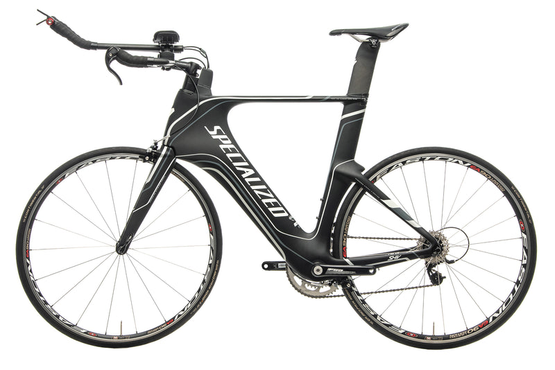 Specialized Shiv Comp Rival Mid-Compact Triathlon Bike - 2013, X-Large non-drive side