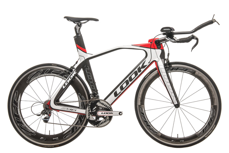 Look 596 I-Pack Triathlon Bike - 2013, 55cm drive side