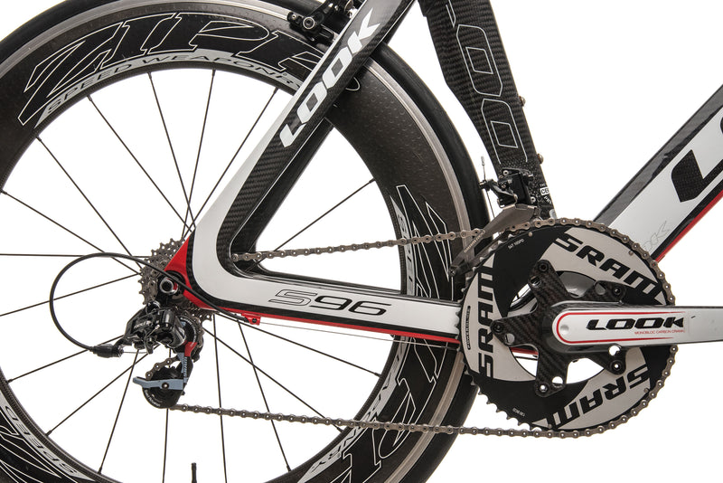 Look 596 I-Pack Triathlon Bike - 2013, 55cm drivetrain