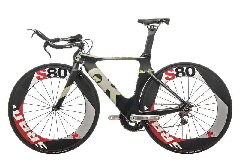 Quintana Roo CD0.1 Triathlon Bike - 2013, Small non-drive side