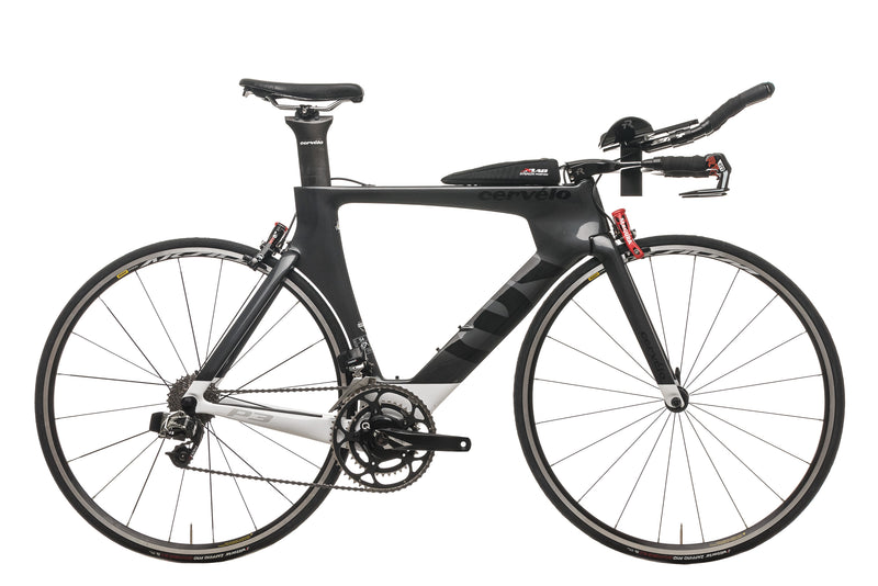 Cervelo P3 Time Trial Bike - 2016, 54cm drive side