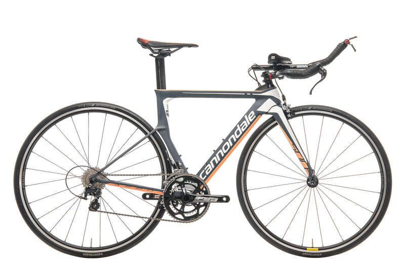 Cannondale Slice Womens Triathlon Bike - 2017, 48cm drive side