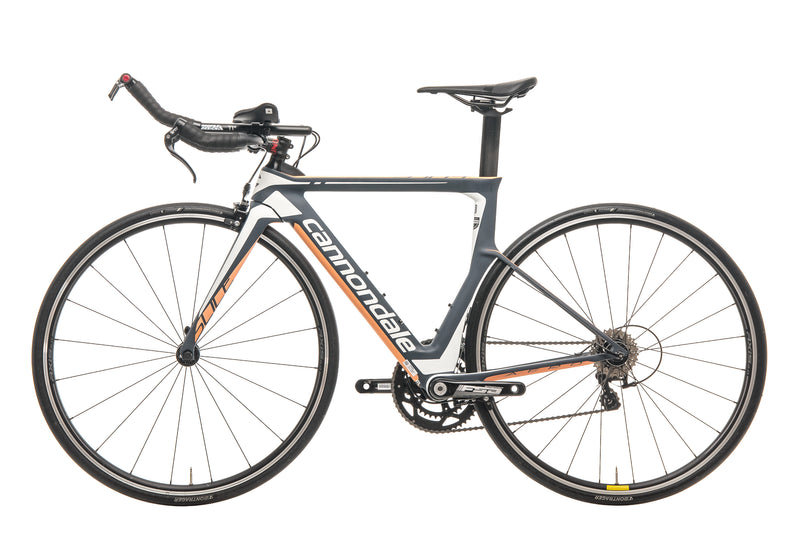 Cannondale Slice Womens Triathlon Bike - 2017, 48cm non-drive side