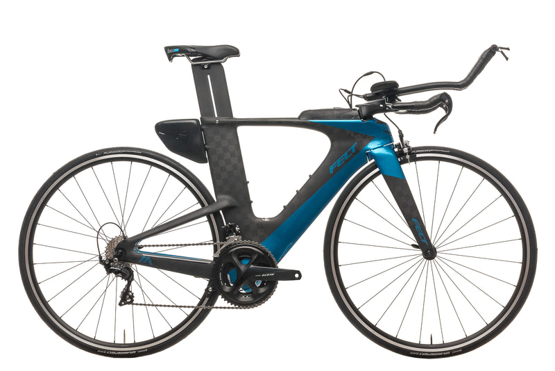 Felt IA Advanced 105 Triathlon Bike - 2020, 51cm drive side