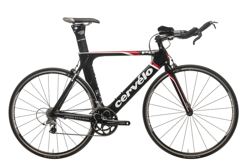 Cervelo P2 Triathlon Bike - 2011, 54cm drive side