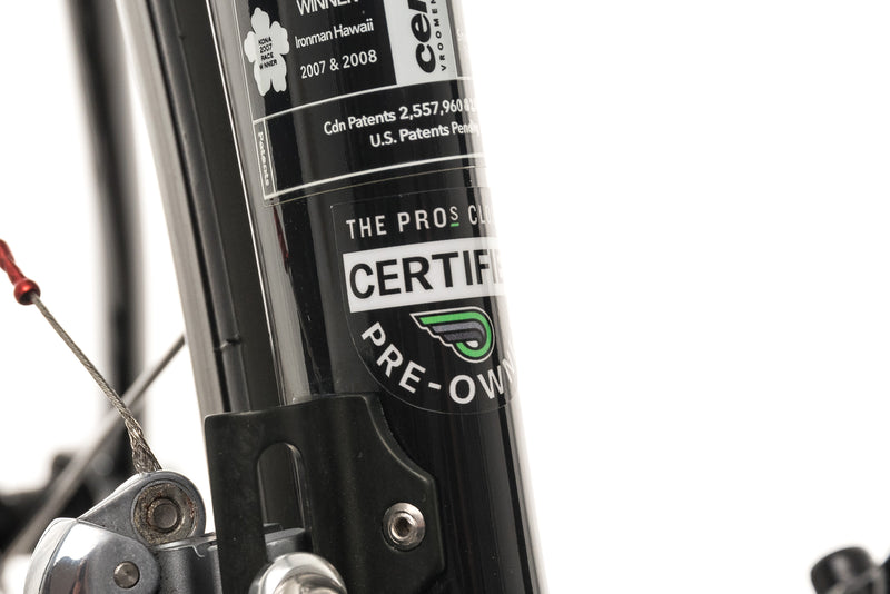 Cervelo P2 Triathlon Bike - 2011, 54cm sticker