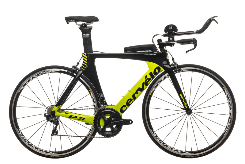Cervelo P3 Time Trial Bike - 2018, 51cm drive side