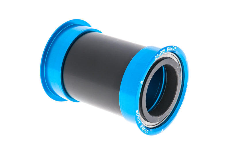Chris King PF30 Bottom Bracket Steel Turquoise drive side