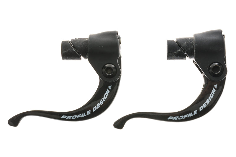 Profile Design 3/One Brake Lever Set Bar End Carbon Black drive side
